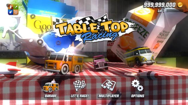 [MGS Hacks iOS] Table Top Racing